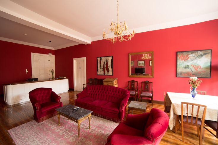 Common Living Room - Hostel Santa Maria Funchal, Madeira Island