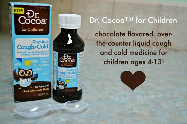 The Best Cough and Cold Medicine for Kids! #DrCocoaReliefWithASmile #ad