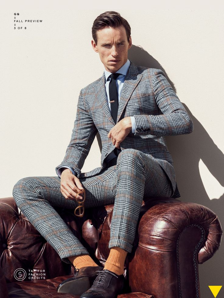 Grey patterned suit #GQ | Men's Fashion in 2019 | Fashion ...