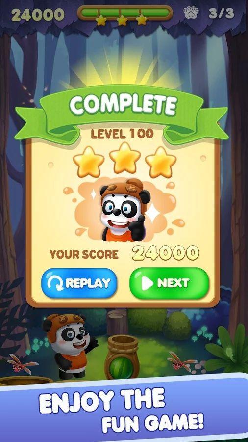 Bubble Panda Rescue– скриншот