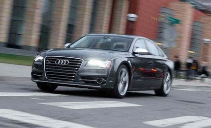 2013 #Audi #S8    A #luxury sedan for those times when you want to take the whole family drag-racing.