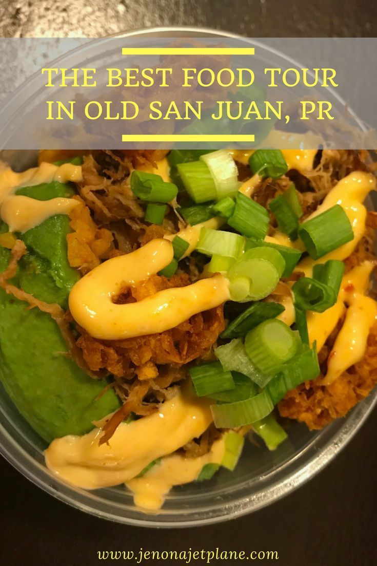 Want to taste your way around Old San Juan, Puerto Rico? Then a food tour with Spoon Food Tours is the way to go. You can stop at 5 distinctly local restaurants and taste common dishes on the island, like mofongo and gelato! Don't miss this food tour next time you're in Puerto Rico. Save it to your travel board for inspiration.