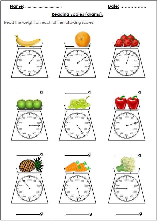 91 best measurement images on pinterest activities preschool and kindergarten. Black Bedroom Furniture Sets. Home Design Ideas