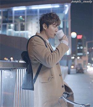 Lee Min Ho for Luwak White Koffie.