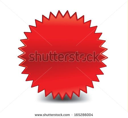 Red Starburst Icon