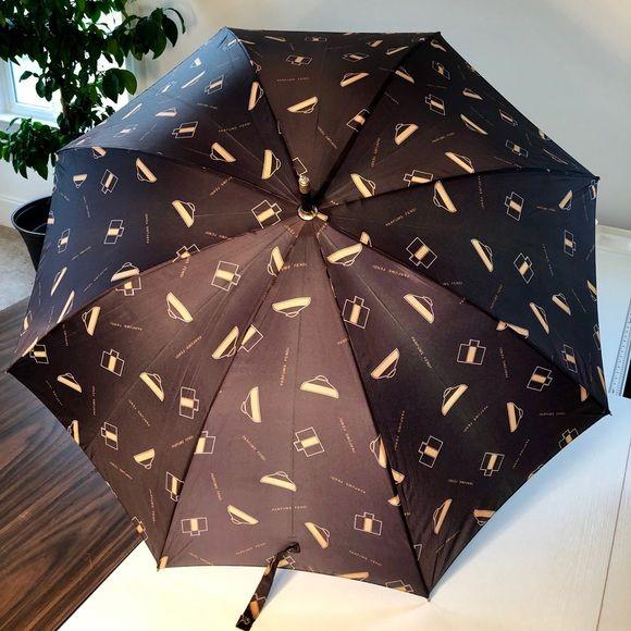 Parfums Fendi Vintage Umbrella Vintage Umbrella Umbrella Fendi