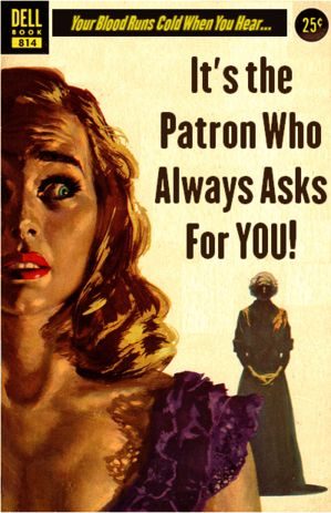 It's the Patron Who Always Asks for YOU! | Professional Library Literature | dime novel parodies