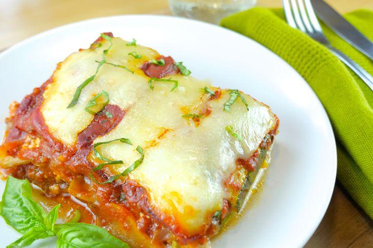 Roasted Squash & Zucchini Lasagna - Andrea Beaman