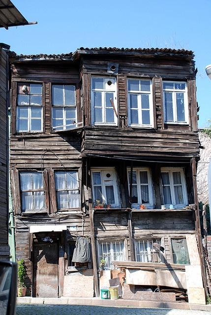 old wooden house, Istanbul, Turkey