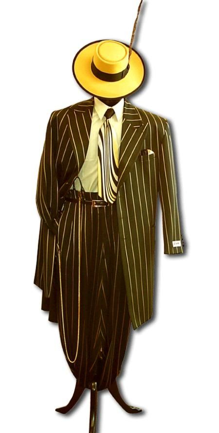 mens italian suits If you are looking for the most colorful and stylish Zoot Suit on the planet look no further.