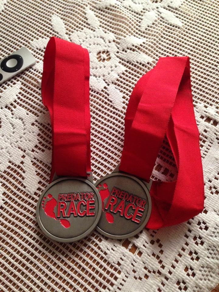 Predator Race Býkov - medaile
