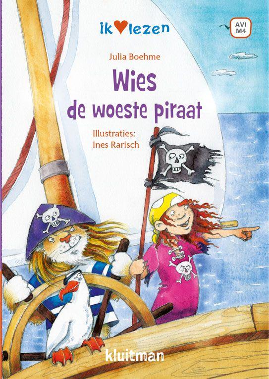 Wies de woeste piraat: een nieuw deel in de serie Ik hartje lezenop AVI M4 Een geheime schat zorgt voor ophef in de piratenhaven. Piraat Wies en haar vriend Laslo gaan net als de rest snel op zoek. Want ze zijn dan wel de kleinste piraten van allemaal, maar ook heel erg dapper!