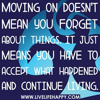 Moving On by deeplifequotes, via Flickr