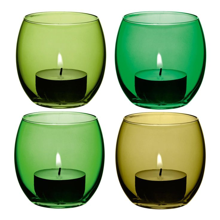 Discover the LSA Coro Assorted Leaf Tealight Holder - Set of 4 at Amara