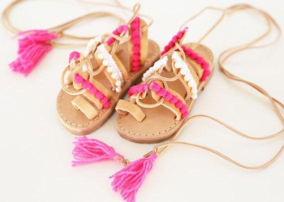 greek sandals leather sandals sandals for kids girl