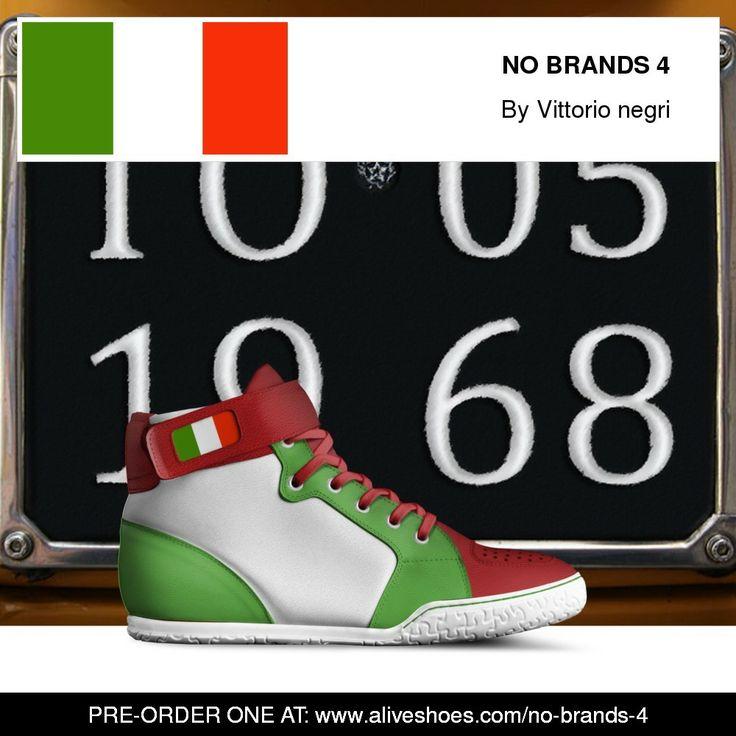 Pre order at: https://www.aliveshoes.com/no-brands-4