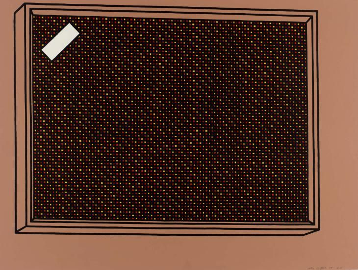 Patrick Caulfield 'Loudspeaker', 1968 © The estate of Patrick Caulfield. All Rights Reserved, DACS 2015
