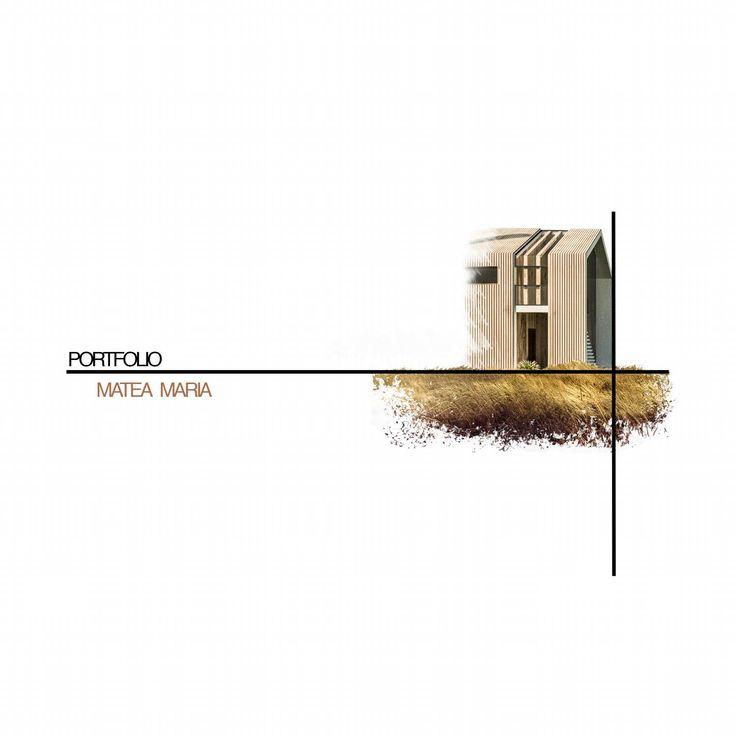 Architecture portfolio by Maria Matea - issuu