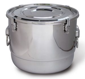 Extra Large Airtight Watertight Stainless Steel Food