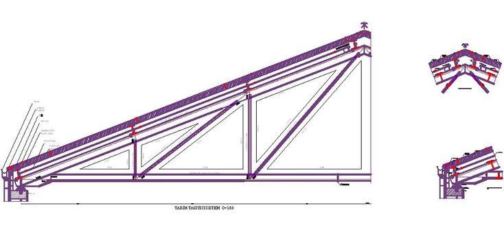 Dwg Adı : Çelik çatı sistem detayları  İndirme Linki : http://www.dwgindir.com/puansiz/puansiz-2-boyutlu-dwgler/puansiz-detaylar-2-boyutlu-dwgler/celik-cati-sistem-detaylari.html
