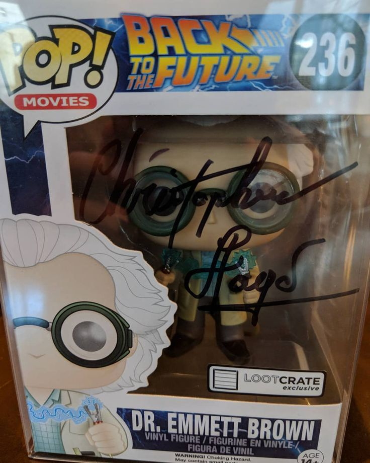 Back to the Future is more than just a movie/movie series to me. It was one of my initial forays into the world of science fiction. Getting to shake this legend's hand while sharing my gratitude and appreciation for what was quite possibly his most defining work put a smile on his face and mine too. . #funko #funkopop #funkofanatic #funkomania #funkoshop #funkofam #pops #popvinyl #pophunter #popmania #popaholic #toycollector #backtothefuture #bttf #docbrown #lootcrate
