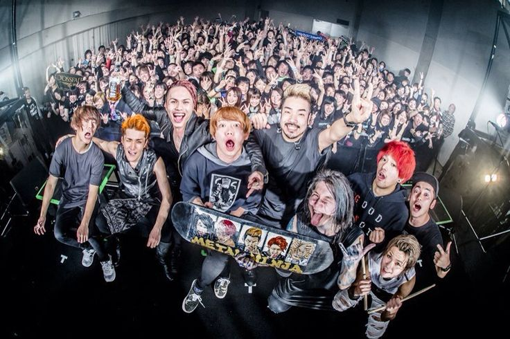 Crossfaith & 04 Limited Sazabys
