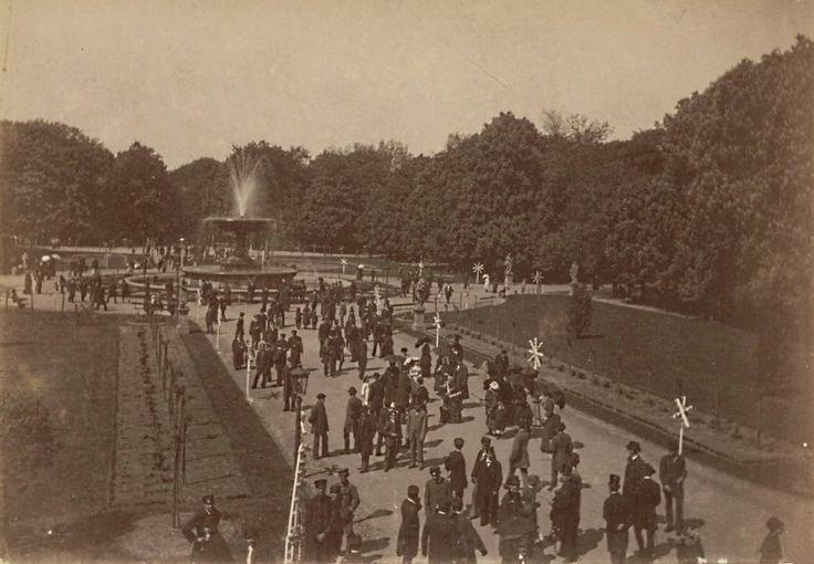 Ogród Saski, rok 1875