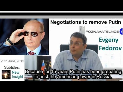 Negotiations to remove Putin. Evgeny Fedorov