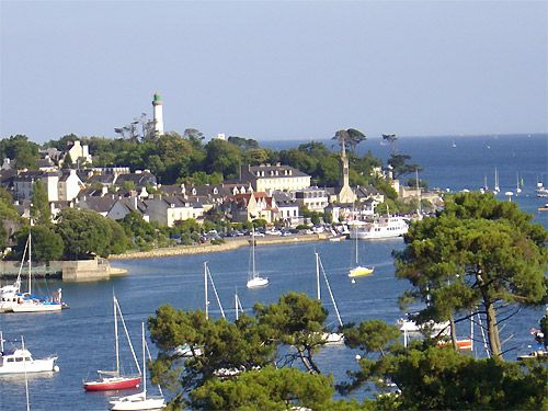 Benodet, Brittany, France. First family adventure across the channel!