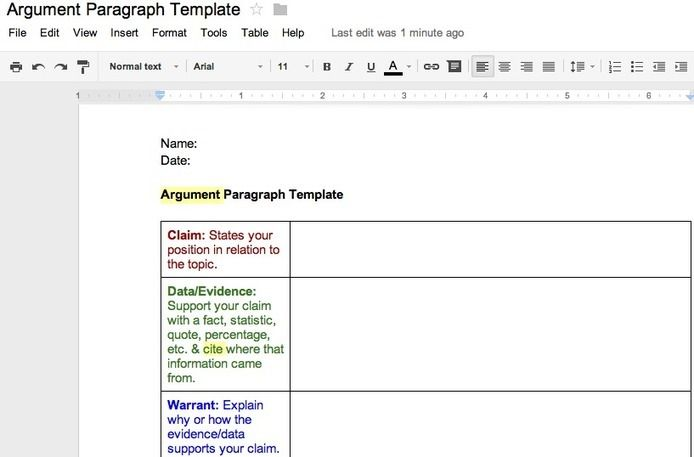 practice argumentative essay prompts