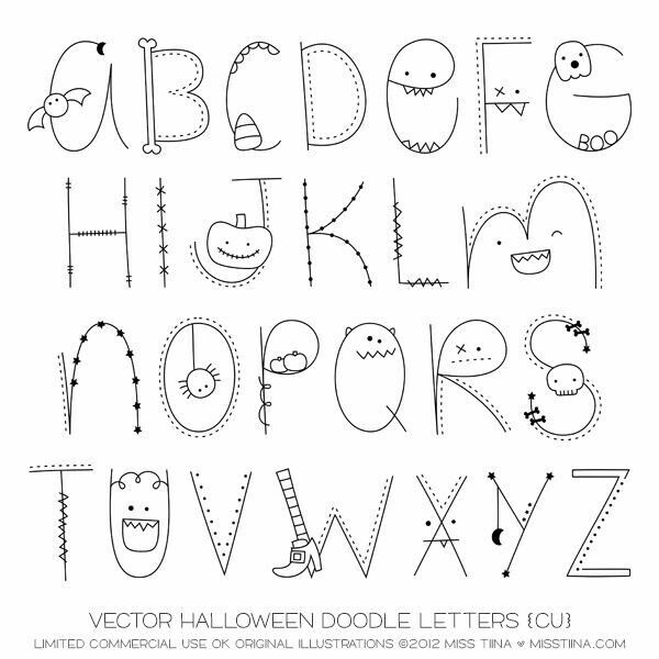 Lettering Halloween