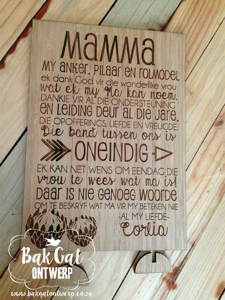 Personalised breadboard #mum #mother #mom #mummy whatever you call her - the most special person in your life #thanksmum