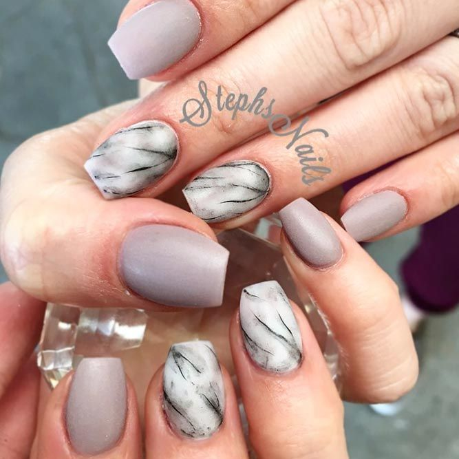 35 Outstanding Short Coffin Nails Design Ideas For All Tastes