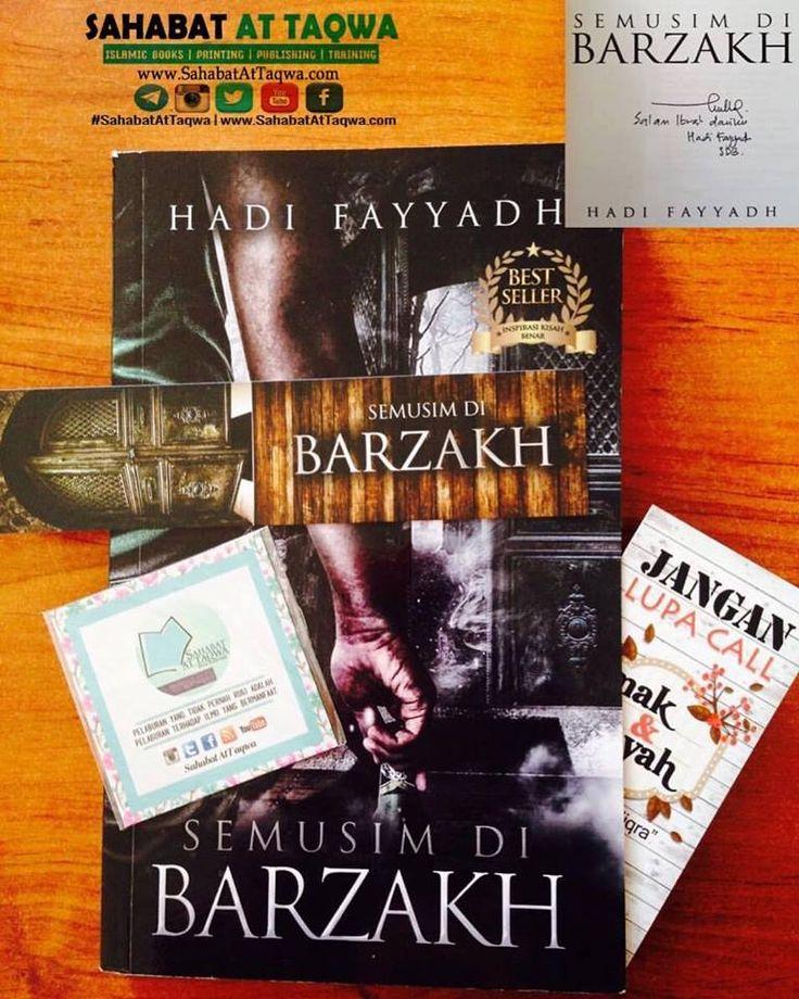 Novel yang mampu menyentuh dan menggoncang sanubari....  Dapatkan Novel Semusim di Barzakh berserta autograph penulis Hadi Fayyadh secara eksklusif dari #SahabatAtTaqwaBerdaftar.  Harga RM29.90 . . PM/WhatsApp/Telegram : 0183176903 . . #DNalejBooks #SahabatAtTaqwa #teammhjiqra #semusimdibarzakh #kaba #ketikaazazilberputusasa