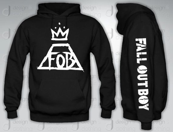 Fall Out boy FOBHoodie hood Crewneck by designandclothing on Etsy, $44.95- i want this too, please:)