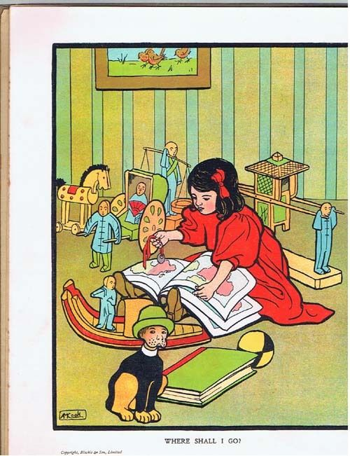 Alice Cook illustration 1908 | eBay