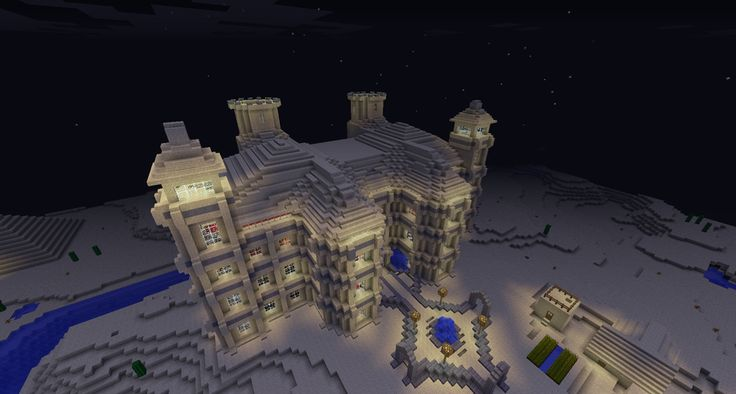 Minecraft Sand Castle #2 by ~Cosmic155 on deviantART