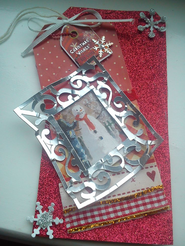 handmade christmas gift tag | cards and tags | Pinterest