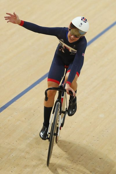 Laura Trott wins Gold in the Women's Omnium Rio Olympic Games 2016 Getty Images