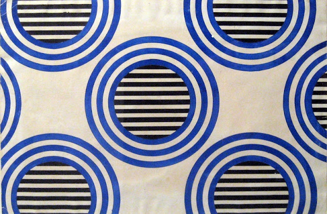 Varvara Stepanova - Textile projetc - 1920's Russian avant-garde