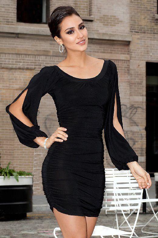 Vestidos Negros para Fiesta Noche
