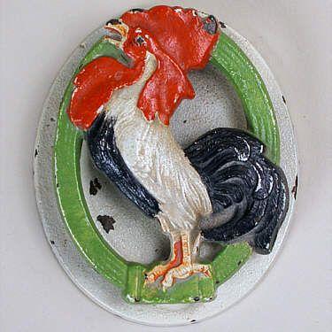 Rooster Kitchen Door Knobs