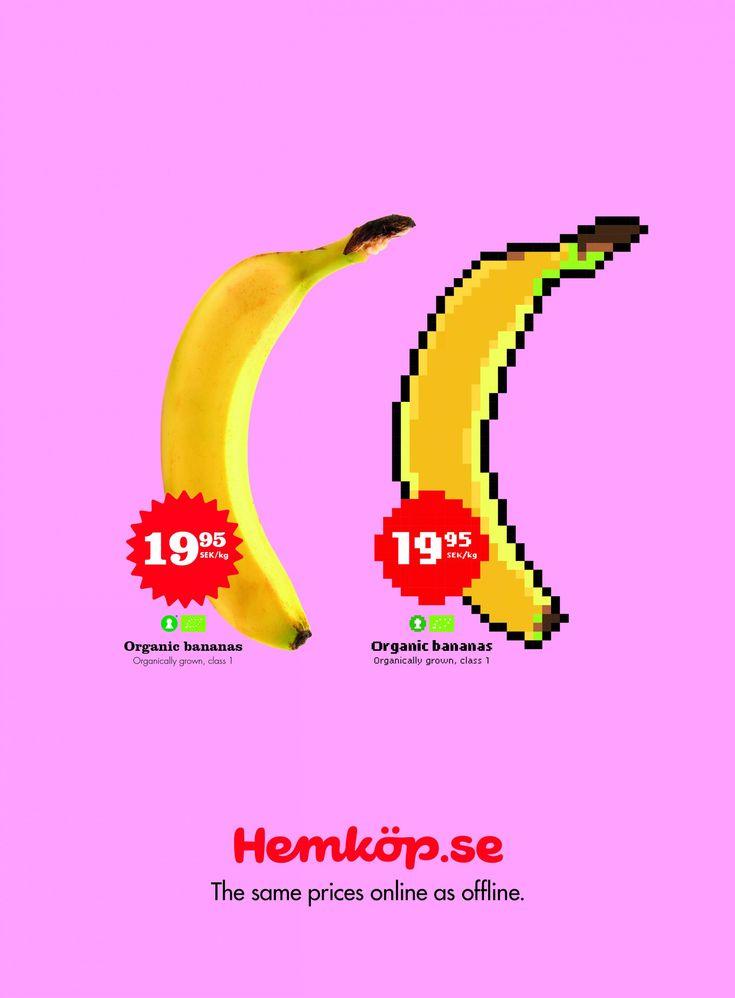 Hemköp: Banana   Ads of the World™