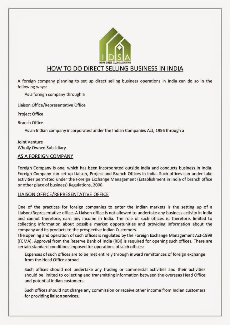 NTB @ FREE SHARE: Direct Selling Business in INDIA