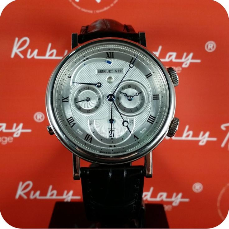"""La célèbre montre Réveil du Tzar de Breguet, une montre dans la plus pure tradition Breguet """"Horloger du roi"""". On y retrouve le célèbre cadran guilloché main avec en plus la fontion réveil et l'affichage d'un second fuseau horaire !"""