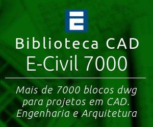 Biblioteca CAD E-Civil 7000