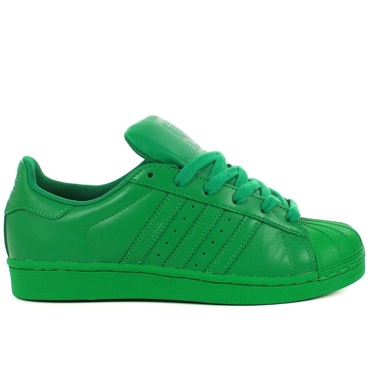 SUPERSTAR SUPERCOLOR BY PHARRELL WILLIAMS VERT · Adidas Authentiques