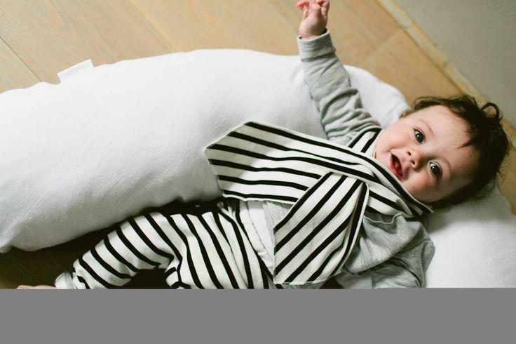 Classic baby Scarf - Breton #baby #scarf #stripes #breton #legging #fashion #mode #kids #children
