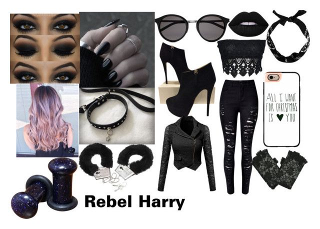 Rebel Fem Harry by me!!! :D Daddy Louis gonna whip somebodys arse xx