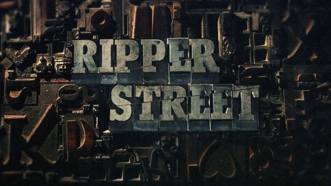 Ripper Street title sequence by Momoco (2012).  Further info: http://www.sohosoho.tv/news/Ripper-Street-Main-Titles-Branding-6d4e628a9ef18c9574d79dad15086ee3
